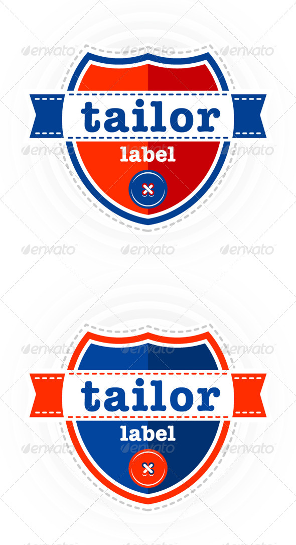 GraphicRiver Set of vector Tailor theme labels 4421098