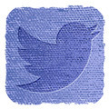 twitter icon in grunge style - PhotoDune Item for Sale