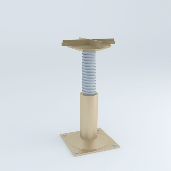 3DOcean Technical Floor Pedestal 4584251