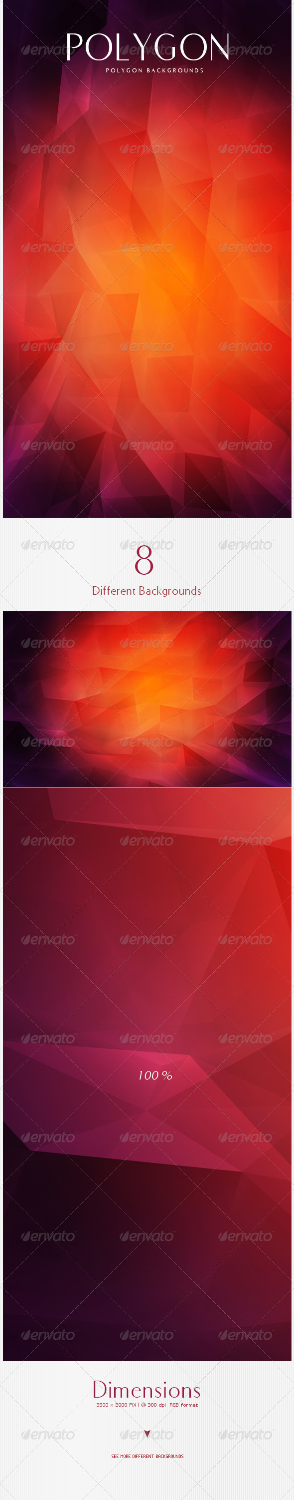 GraphicRiver Polygon Backgrounds 4584895