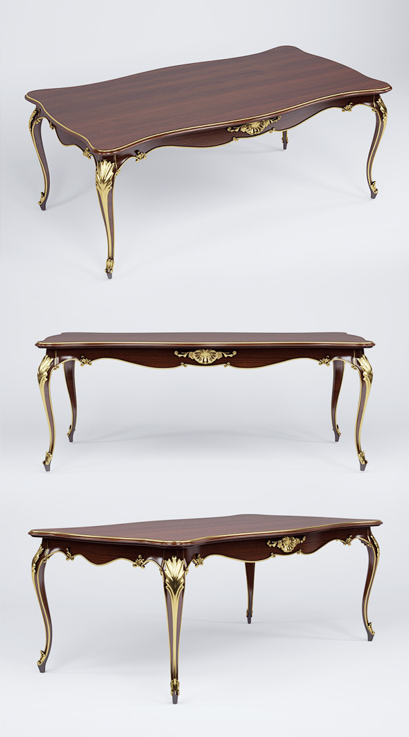 3d model table ceppi Luxury - 3DOcean Item for Sale