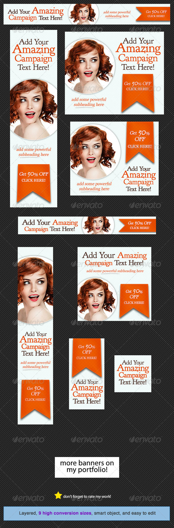 GraphicRiver SugarPop Web Banner Design 4586777