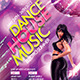 Dance House Party Flyer - GraphicRiver Item for Sale
