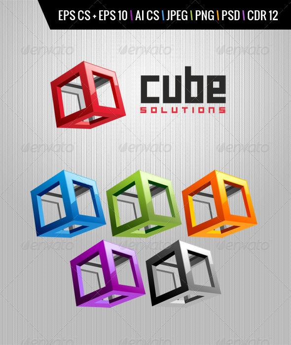 GraphicRiver Cube Logo 4520114
