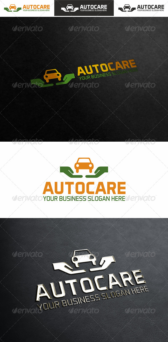 Auto Care Logo Template - Vector Abstract