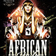 African Nights Flyer Template