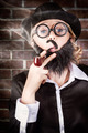 Funny private eye detective smoking pipe - PhotoDune Item for Sale