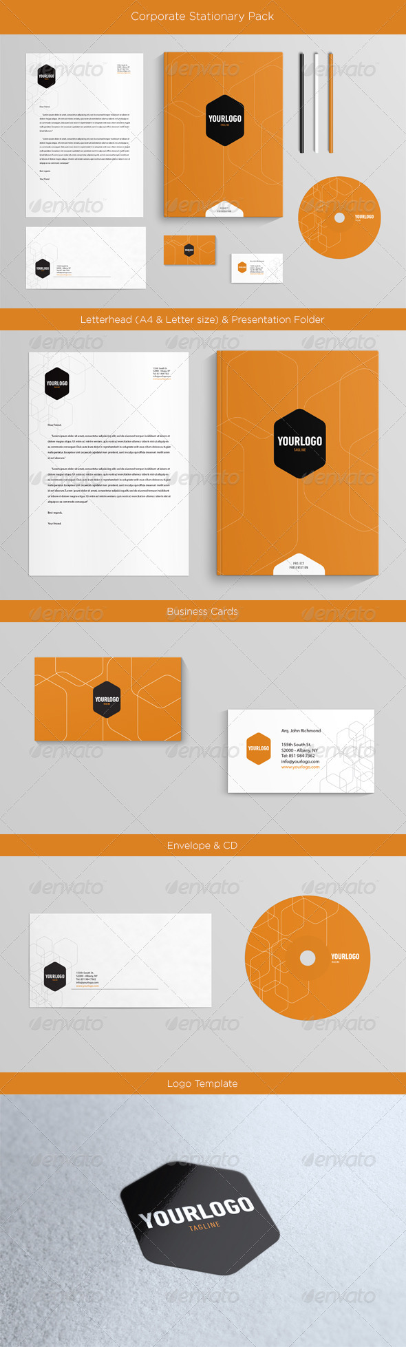 GraphicRiver Corporate Stationary 4496303