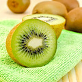 Kiwi on a green napkin - PhotoDune Item for Sale