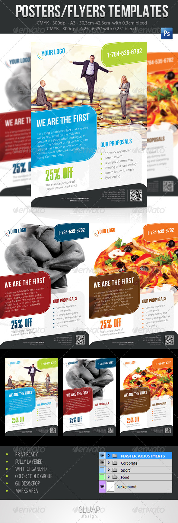 GraphicRiver Poster Template A3 4504159