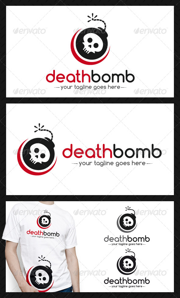 GraphicRiver Death Bomb Logo Template 4590716