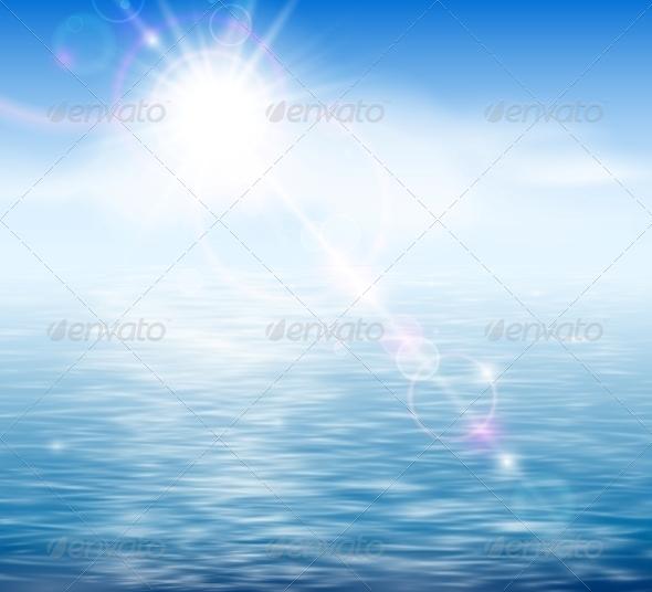 GraphicRiver Sunshine by the Sea 4591746