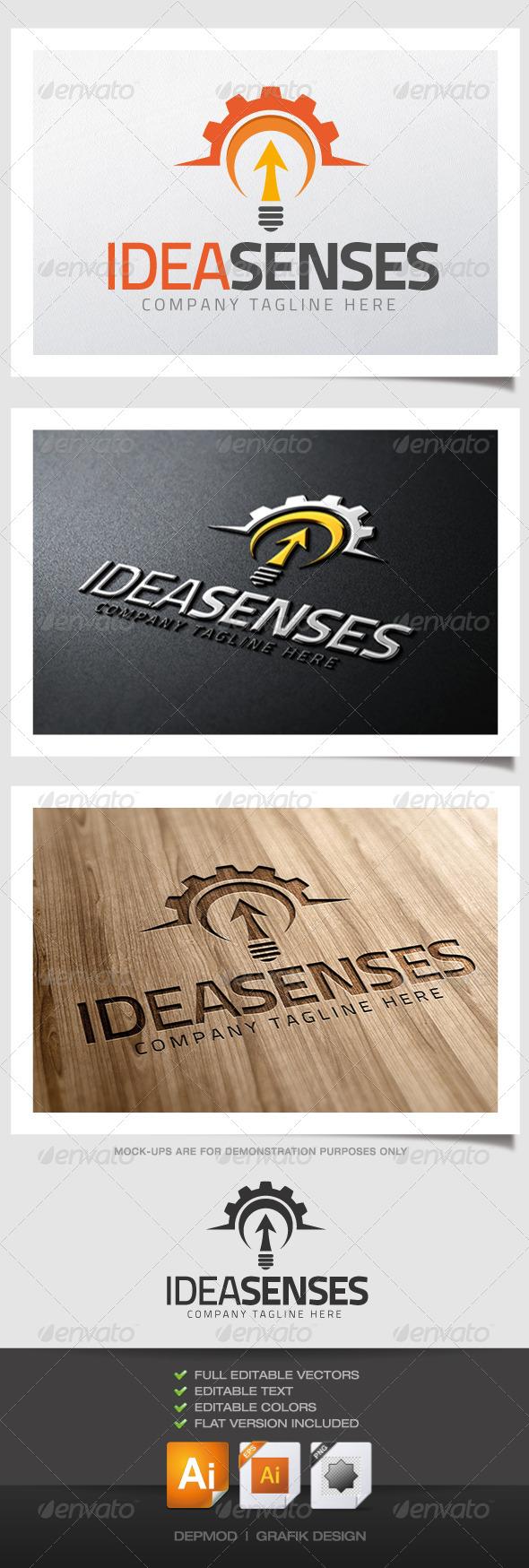 GraphicRiver Idea Senses Logo 4579947