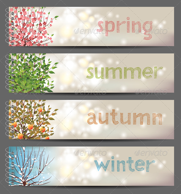 GraphicRiver 4 Seasons 4592134