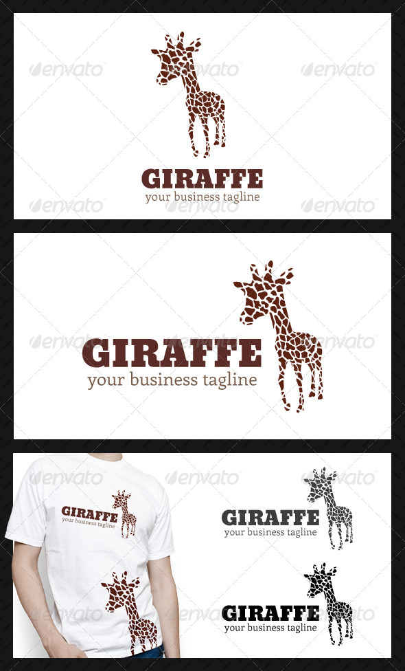 GraphicRiver Giraffe Studio Logo Template 4592196