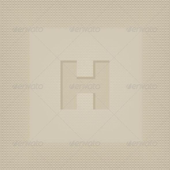 GraphicRiver Letter H 4592202