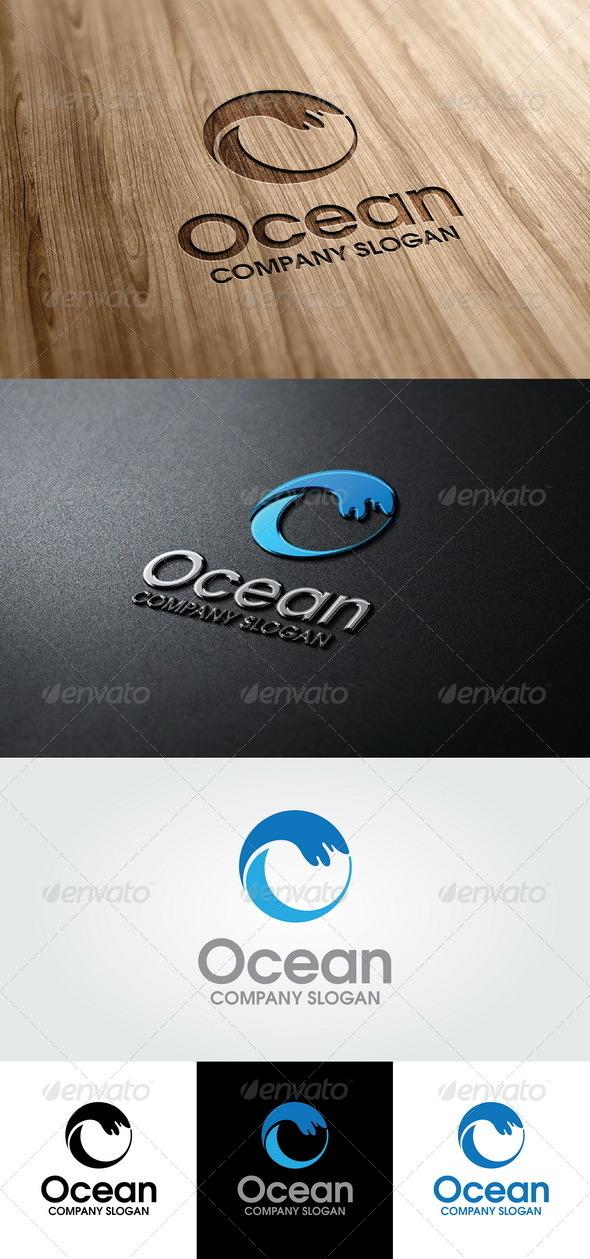 GraphicRiver Ocean Logo 4592414