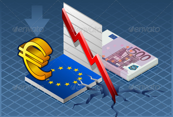 GraphicRiver Isometric Europa Crisis 4592531