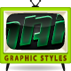 Dark Styles For Illustrator - GraphicRiver Item for Sale