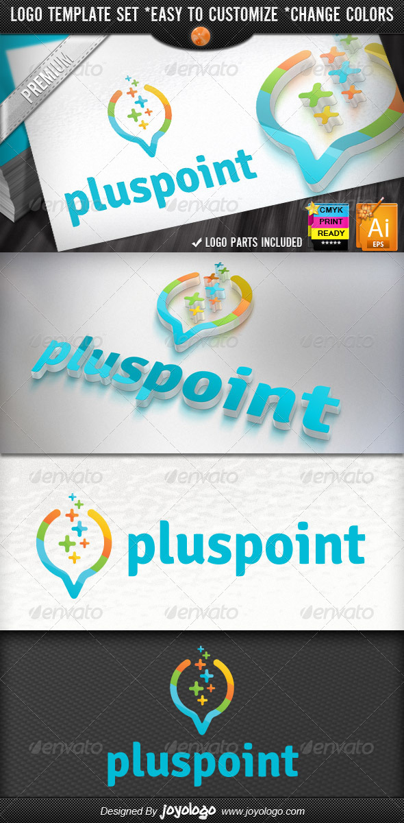 GraphicRiver Digital Data Finder Apps Pixel Plus Point Logo 4588409