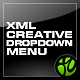 XML Creative Dropdown Menu - ActiveDen Item for Sale