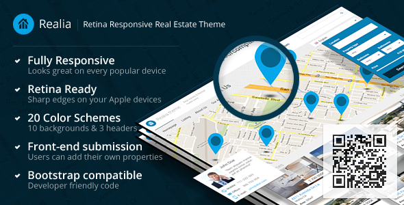 ThemeForest Realia Retina Responsive Real Estate Template 4594492