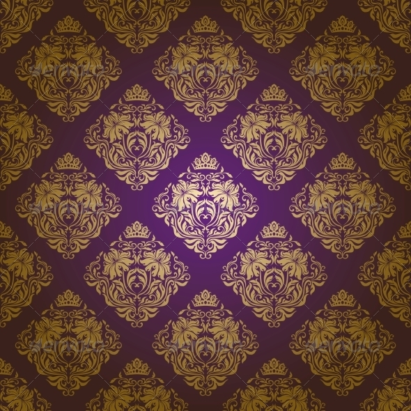 GraphicRiver Damask Seamless Floral Pattern 4594631