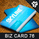 Business Card Design 76 - GraphicRiver Item for Sale