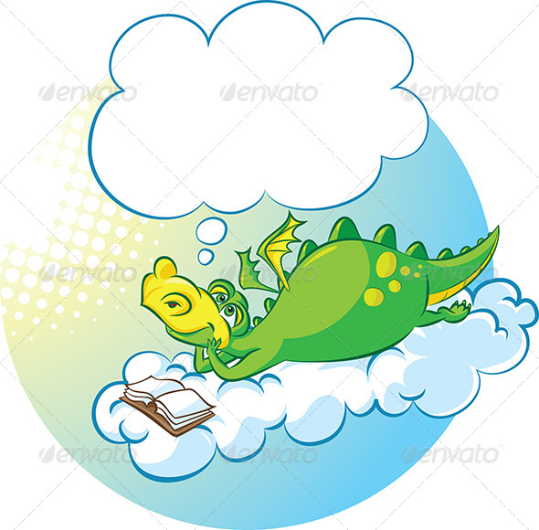 GraphicRiver Dragon the Dreamer 4595938