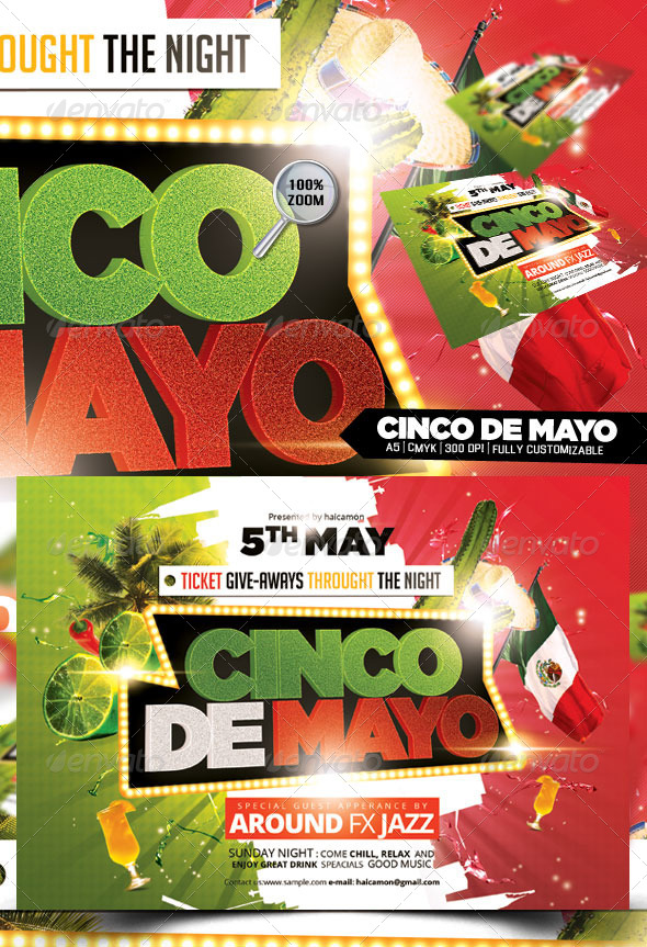 GraphicRiver Cinco De Mayo 4512443