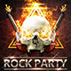 Rock/Hell Party Flyer - GraphicRiver Item for Sale