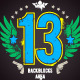 Grunge Print with Lucky Number - GraphicRiver Item for Sale