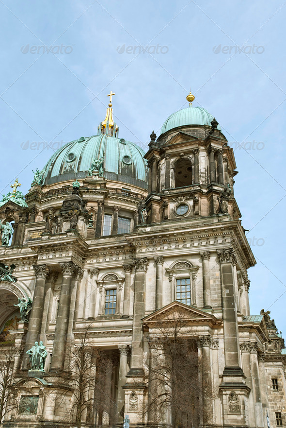 Berlin Cathedral - Stock Photo - Images