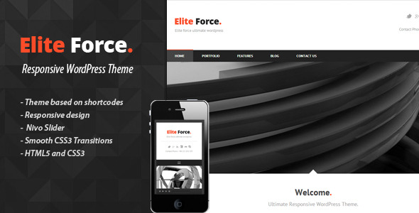 ELITE FORCE - Premium Wordpress Theme