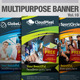 Multipurpose Banner Vol.9 - GraphicRiver Item for Sale