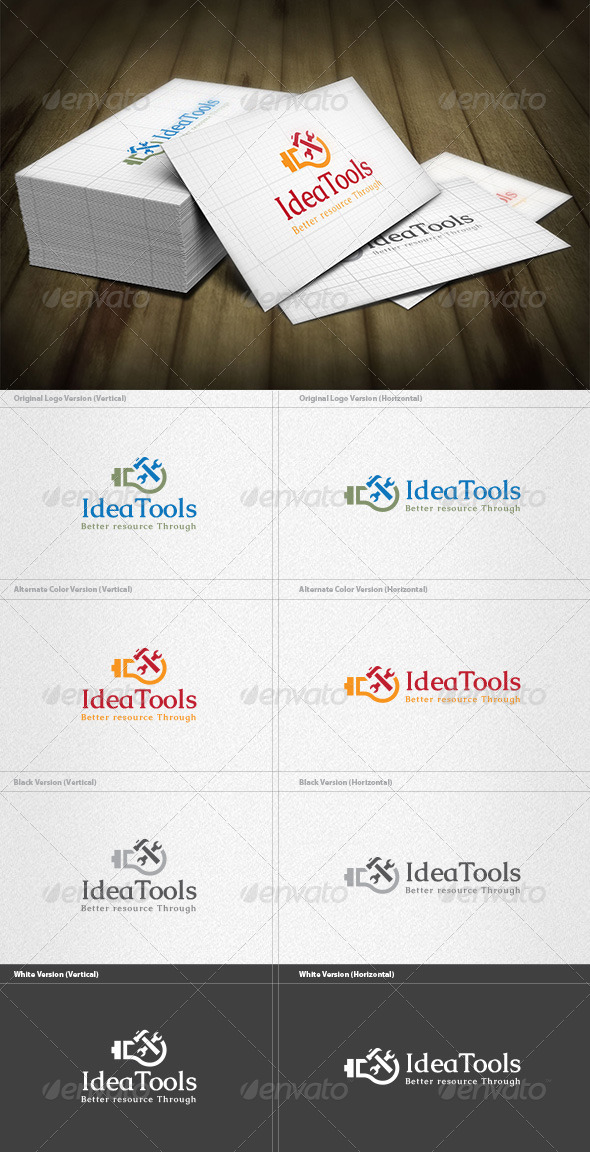 GraphicRiver Idea Tools Logo 4599959