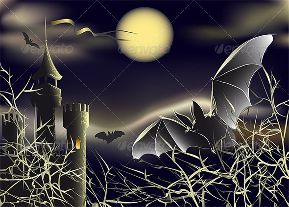 GraphicRiver The Halloween Landscape 4600003