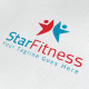 Star Fitness Logo - GraphicRiver Item for Sale
