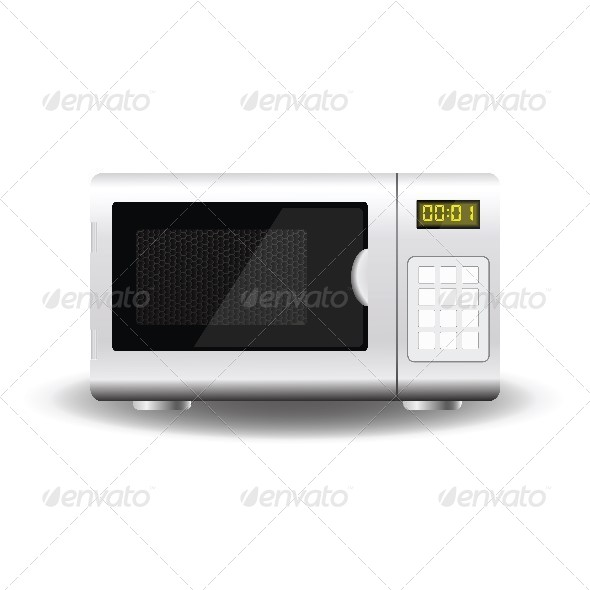 GraphicRiver Microwave 4600097