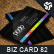 Business Card Design 82 - GraphicRiver Item for Sale