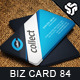 Business Card Design 84 - GraphicRiver Item for Sale