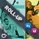 Shopping Fast Roll-Up Template - GraphicRiver Item for Sale
