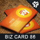 Business Card Design 86 - GraphicRiver Item for Sale
