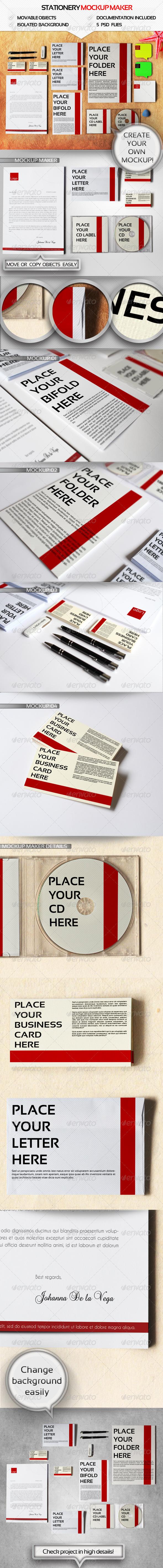 GraphicRiver Branding Mockup Maker 4511309