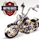Chopper Customized Motorcycle - GraphicRiver Item for Sale