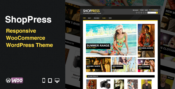 ShopPress: Responsive WooCommerce WordPress Theme - WooCommerce eCommerce