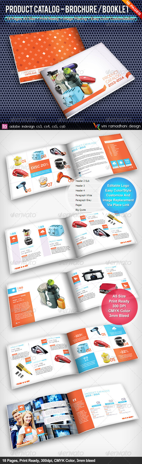 GraphicRiver Product Catalogs Brochure Or Booklet 4527755