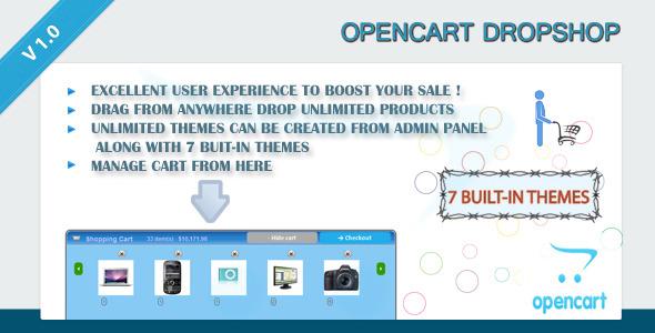 CodeCanyon OpenCart DropShop 4603886