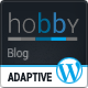 Hobby: Personal Blog Wordpress Theme - ThemeForest Item for Sale