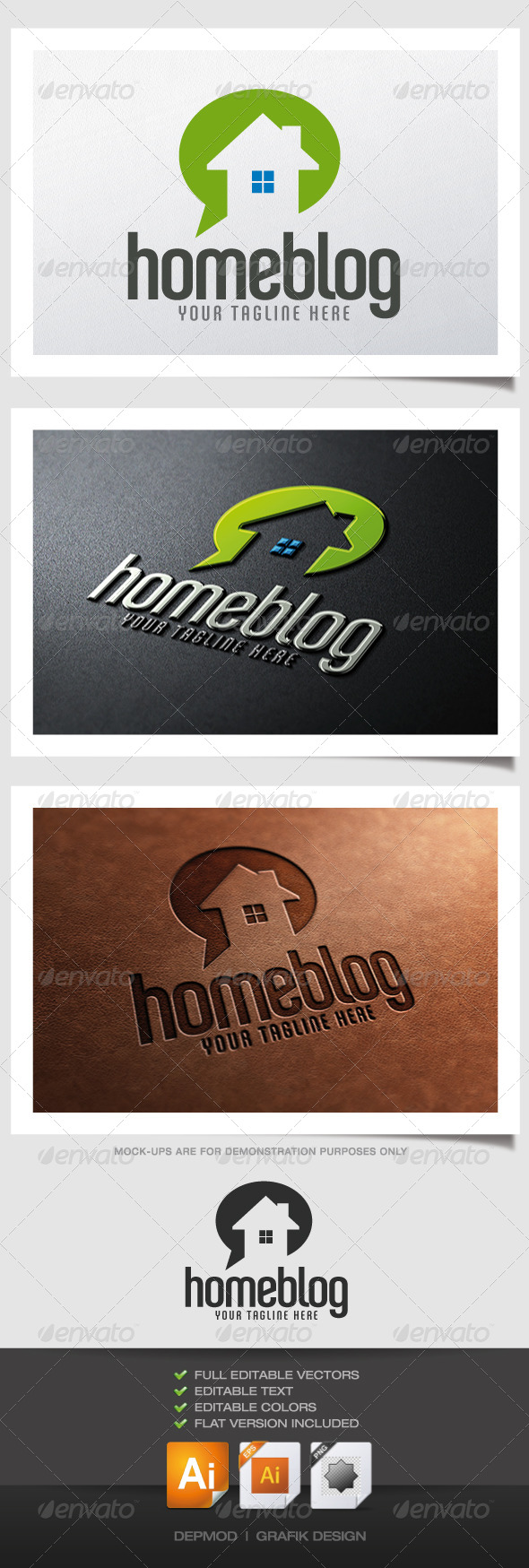 GraphicRiver Home Blog Logo 4603991
